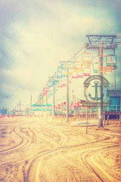 Seaside Heights Boardwalk Pastel New Jersey by BrandiFitzgerald @Brandi Fitzgerald!  Amazing work - check her out!