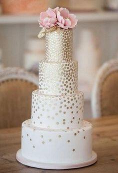 Confetti Waterfall Cake