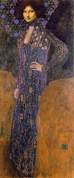 Mona as Klimt's Emilie Floge by Stars*Go*Blue, via Flickr