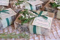 Detalles de boda jabones de romero   Flickr: Intercambio de fotos