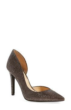 Jessica Simpson 'Claudette' Half d'Orsay Pump (Women) available at #Nordstrom