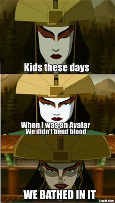 [Image - See more 'Avatar: The Last Airbender / The Legend of Korra' images on Know Your Meme! See more 'Avatar: The Last Airbender / The Legend of Korra' images on Know Your Meme! Avatar Airbender, Avatar Aang, Avatar The Last Airbender Funny, The Last Avatar, Avatar Funny, Team Avatar, Avatar Facts, Legend Of Aang, Atla Memes