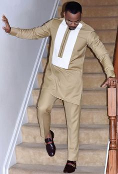 Hello,Today we bring to you 'Outstanding Native Wears for Men'. These Native wears for men are the b African Wear Styles For Men, African Shirts For Men, African Dresses Men, African Attire For Men, African Clothing For Men, Nigerian Men Fashion, African Men Fashion, Africa Fashion, Native Wears