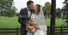 day Ashley and I are excited to share Sallie and Charlie's wedding film from the beautiful Rosehill Plantation in Nashville, NC. For Sallie and Charlie, their wedding was both a sacred act of two becoming one and an opportunity to share their inspiring faith and love for their creator and each other.