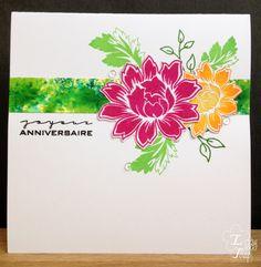 Uniko – Joyeux Anniversaire avec Beautiful Blooms / Happy birthday with Beautiful Blooms Bloom, Beautiful, Studio, Cards, Studios, Maps, Playing Cards