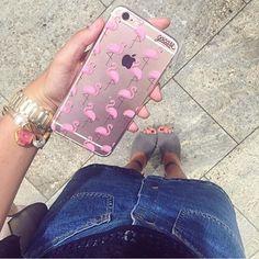 Acessórios essenciais para compor os looks do seu dia a dia! {case: flamingos rosa}  [DISPONÍVEL PARA TODOS OS IPHONES GALAXY E MOTO G3º]  #gocasebr #instagood #iphonecase #style #flamingo #pink #voudegocase
