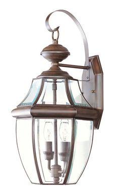 Monterey 2 Light Outdoor Wall Lantern