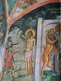 Religious Icons, Fresco, Princess Zelda, Painting, Fictional Characters, Byzantine Art, Fresh, Painting Art, Paintings