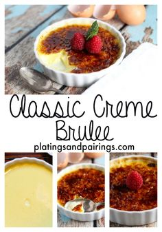 It's a Classic - WONDERFUL Creme Brulee - Look NO further for the perfect recipe. platingsandpairings.com