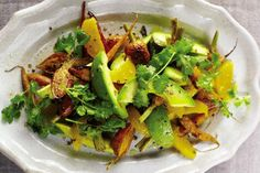 Carrot, Avocado, and Orange Salad recipe from The Splendid Table