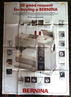 Bernina Sewing Machine | eBay