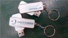 Sensor industry's most popular business gifts Flash drive rotation paragraph rectangle Crystal Epoxy USB disk