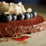 torta crudista alla barbabietola e cacao per Francesca di Instamamme  Una torta golosa, fresca e nutriente #raw #vegan #rawcake