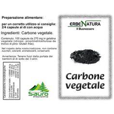 Piante officinali :: Carbone vegetale capsule (Carbone di legna di Betulla) - Erboristeria Sauro - vendita online erbe officinali e preparati fitoterapici.Rimedi salutistici - Laboratorio d'Erbe Sauro - promozioni - sconti