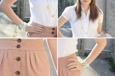 Love the muted colors and soft, flowy fabrics!