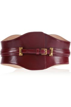 Alexander McQueen Wide leather belt