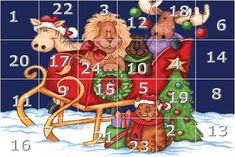 German Christmas Advent Calendar