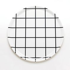 Home Decor Objects Ideas & Inspiration : Unison Home grid round tray House Design Photos, Modern House Design, Cafe Interior, Interior Design, Square Tray, Round Tray, Eclectic Decor, Serveware, Tableware