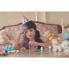 Melanie Martinez Teases Debut LP 'Cry Baby' With A Delightfully... ❤ liked on Polyvore