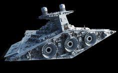 Victory-class Star Destroyer – Fractalsponge.net