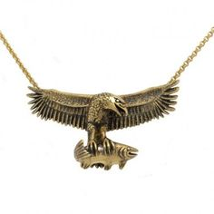 Custom made eagle pendant in yellow gold by Benjamin Black Goldsmiths. Wedding Engagement, Wedding Bands, Engagement Rings, Tie Pin, Dress Rings, Signet Ring, Custom Design, Cufflinks, Eagle