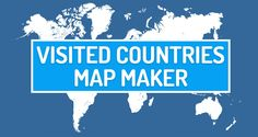 Create Travel Map with your visited countries. Select the countriesyou visitedand generate your world travelmap. Copy+Paste and use it on your website!