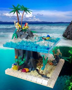 Great idea how to make a surface & underwater MOC
