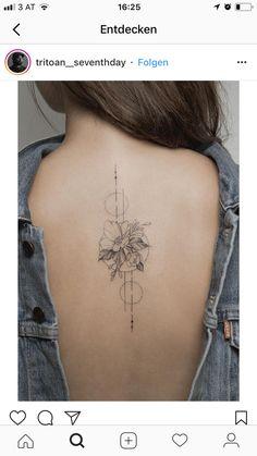 tattoos on back of neck tattoos on back . tattoos on back of arm . tattoos on back for women . tattoos on back of neck . tattoos on back shoulder . tattoos on back of ankle . tattoos on back of leg . tattoos on back of arm above elbow Cool Back Tattoos, Back Tattoo Women, Small Tattoos, Tattoos For Women, Feminine Back Tattoos, Hand Tattoos, Body Art Tattoos, Tatoos, Piercing Tattoo