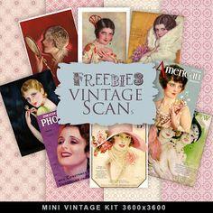 Nuevo Kit Freebies Vintages