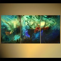 Modern abstract Painting Original Abstract by OsnatFineArt