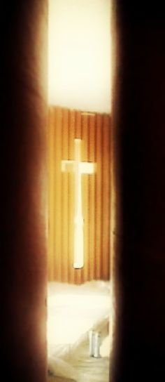 seminary chapel, cardboard space - coolstoodio