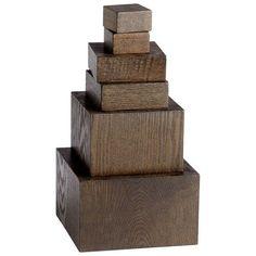 Brown Art Pedestals