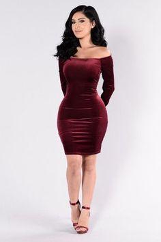 Huntress Dress - Wine