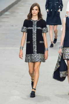 Chanel Spring 2015. See the best #PFW runway looks here.