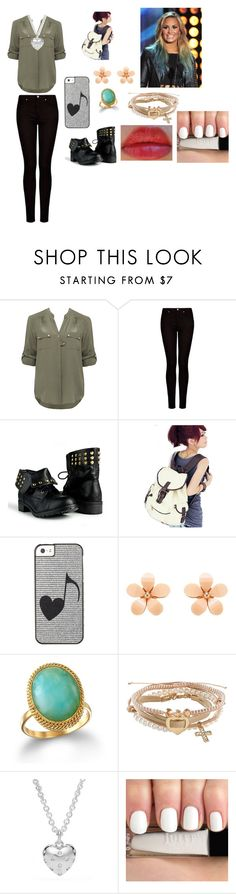 """""""Untitled #99"""" by andreia-santos123 ❤ liked on Polyvore featuring Forever New, MANGO, 18 KT, Aéropostale and Coach"""