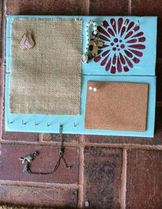 A personal favorite from my Etsy shop https://www.etsy.com/listing/273098068/hanging-jewelry-organizer