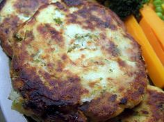 """Nova Scotia Fish Cakes from Food.com: My husband loves these made with salmon.  Don't knock it til you've tried it!  Even crispier if you coat them in Panko instead of flour before cooking!  This recipe is from """"The Rustic Table"""" by Constance Snow."""