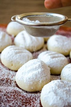 melting moments cookies | giverecipe.com | #cookies