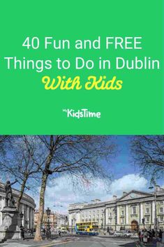 With so much to choose from in this family-friendly city, you'll definitely want to make full use of our guide to fun and FREE things to do in Dublin! Dublin Castle, Dublin City, Kilmainham Gaol, Ireland With Kids, Family Travel, Family Trips, Event Guide, Irish Sea, Free Things To Do