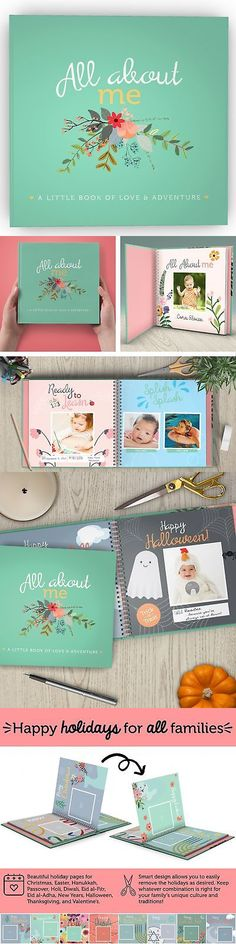 Keepsakes and Baby Announcements 117388: First Year Baby Memory Book And Baby Journal. Modern Baby Shower Gift And Keepsak... -> BUY IT NOW ONLY: $40.96 on eBay!