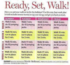 Get Back Into Walking. Give this kind of a routine a try, adding something more physically demanding for a short period of time like the jumping jack or the jogging in place. It's a great way to get back into fitness! Walking Challenge, Walking Plan, Workout Challenge, Workout Tips, Workout Plans, Walking Program, Power Walking, Quick Workouts, Challenge Ideas