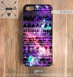 iPhone 4 Case Galaxy, Tribal iPhone 4s Case, Aztec iPhone 4S Case, Space iPhone Case, Silicone iPhone Case or Plastic iPhone Case on Etsy, $17.99