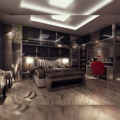 Design mastr Bedroom modrn