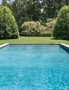 toryburch:  D is for Dive In Where we want to be… at just this moment. Pool designed by Perry Guillot
