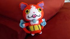 Jibanyan!               My oldest son loves all things Yo-Kai.  For his birthday I decided to crochet him Jibanyan, just one of the lovable ...