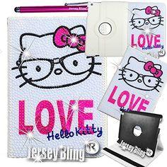 Ipad Air 2 Cases, Ipad Case, Pearl Love, Stylus, Ipad Mini, Iphone 4, Crystal Rhinestone, Pu Leather, Nerd