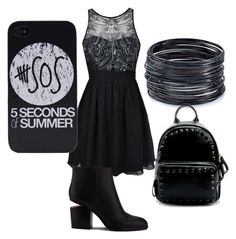 """""""sos"""" by glam-4 ❤ liked on Polyvore featuring Ally Fashion, Alexander Wang and ABS by Allen Schwartz"""