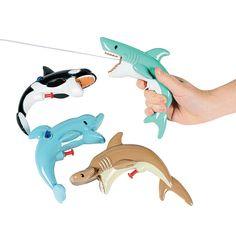 Sea Life Squirt Guns - OrientalTrading.com 12.99 for a dozen of them