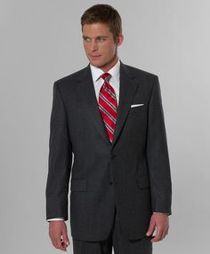 Red POWER tie - must have for business meetings.  Get one or six.  Wear them.