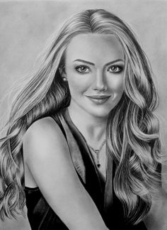 Amanda Seyfried Drawing by AngelasPencil Portrait Sketches, Art Drawings Sketches, Pencil Portrait, Portrait Art, Beautiful Pencil Drawings, Realistic Pencil Drawings, Crayon Drawings, Celebrity Drawings, Celebrity Portraits